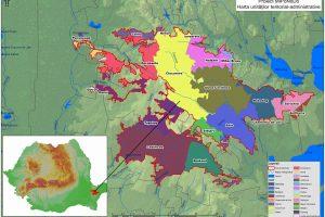Harta localizării proiectului