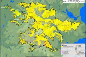 Harta ariilor naturale protejate