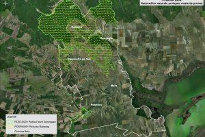 Baia harta ariilor naturale vizate de proiect