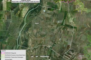 Daeni harta ariilor naturale vizate de proiect