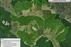 Slava Cercheza harta ariilor naturale vizate de proiect