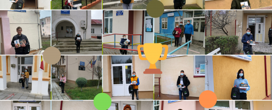 """Premiile au ajuns la câștigătorii concursului """"Cercetători de Podiș 2020"""""""